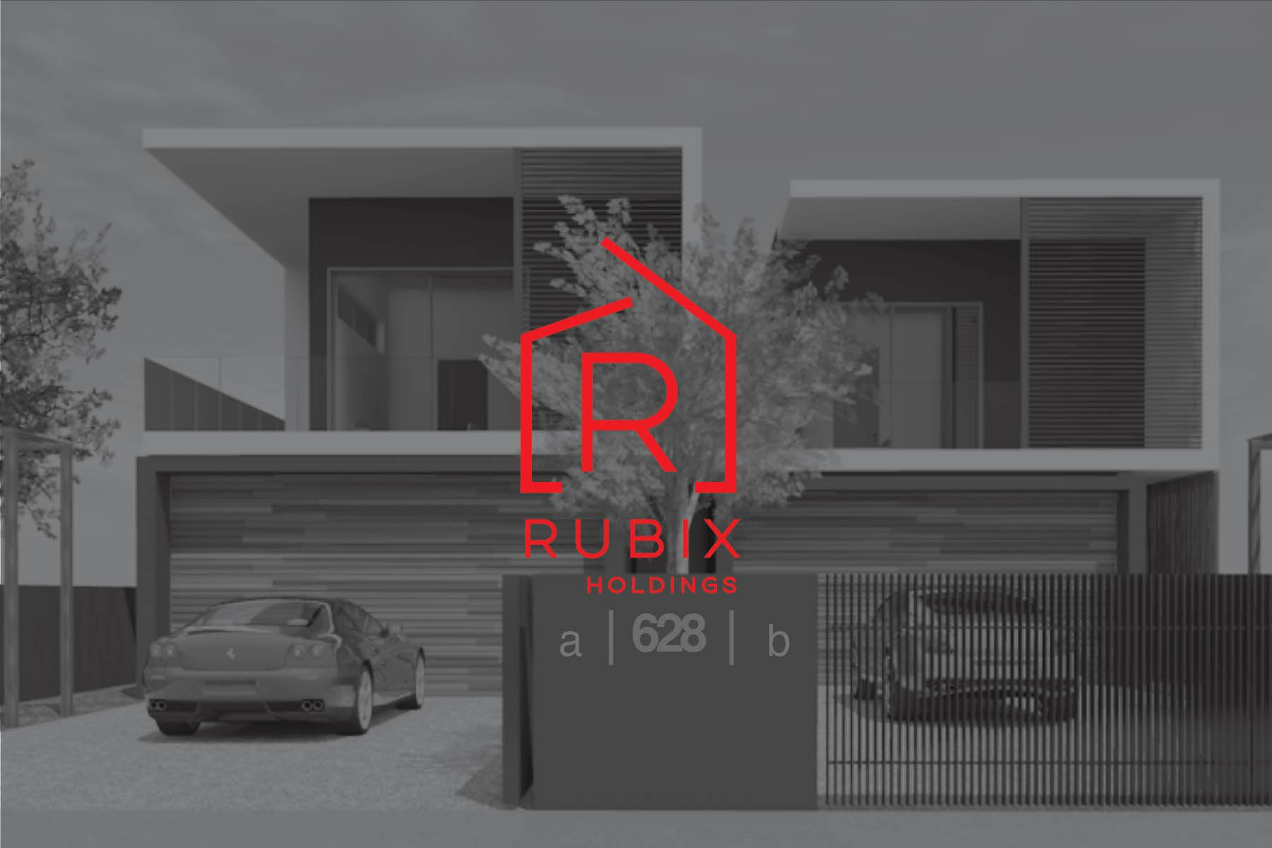 Construction Web Design | Rubix Holdings | Sydney Construction Logo Design | Logo Designer | Web Designer | Website | Builder Logo | Sophisticated Logo | Parramatta