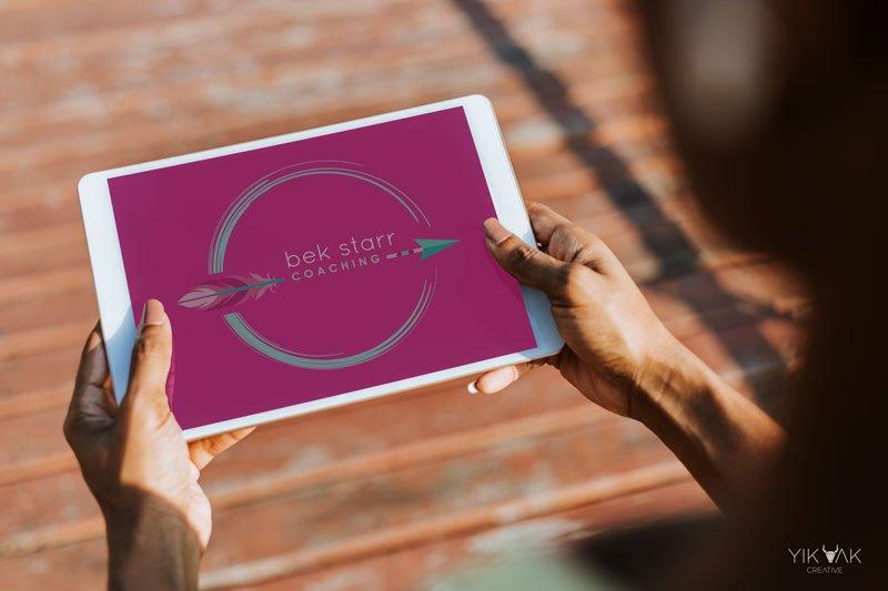 Fitness Logo Design | Bek Starr Coaching | Sydney