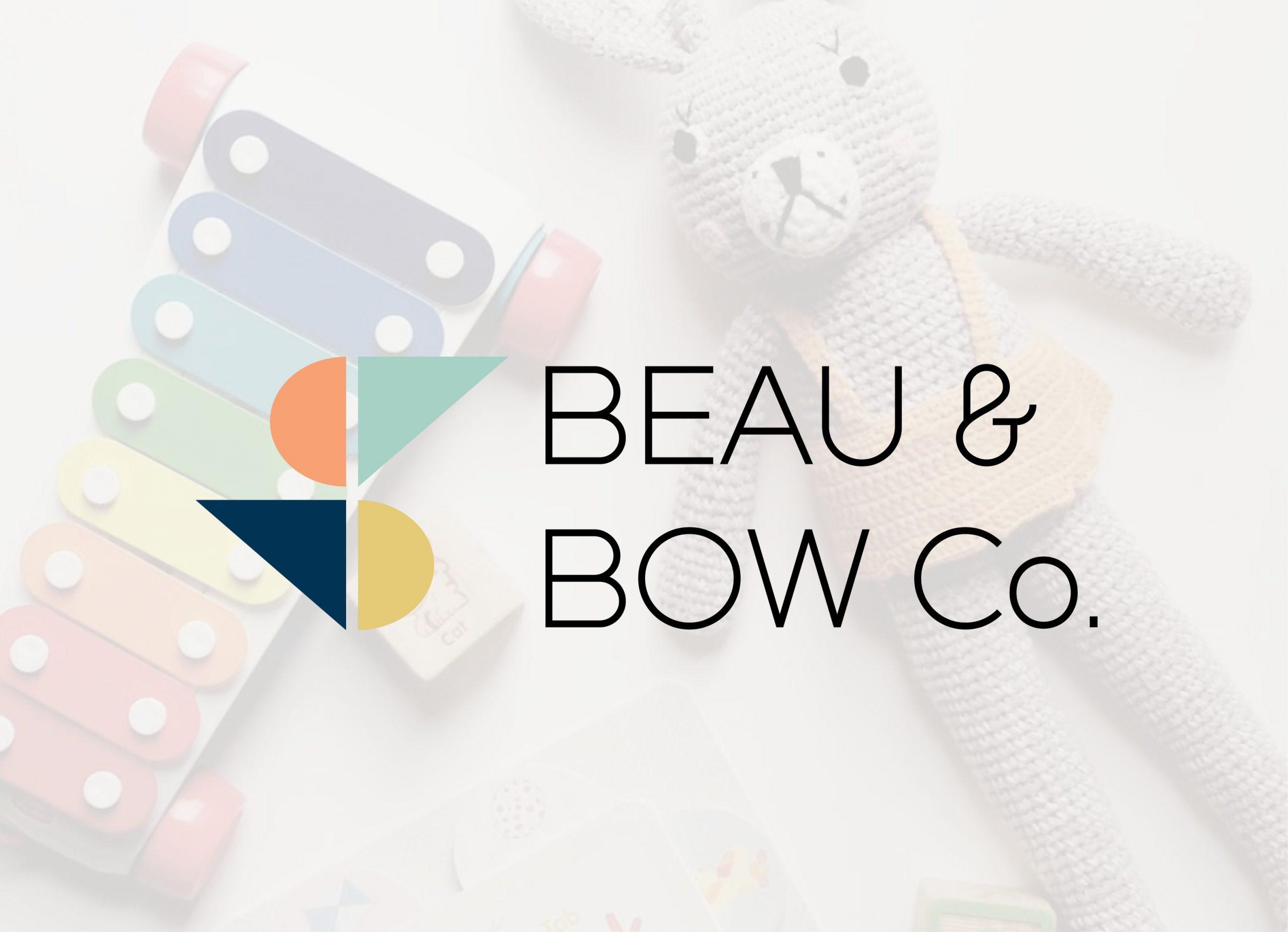 Kids Logo Designer | Beau and Bow Co. | Sydney | Kids Logo Design | Web Design