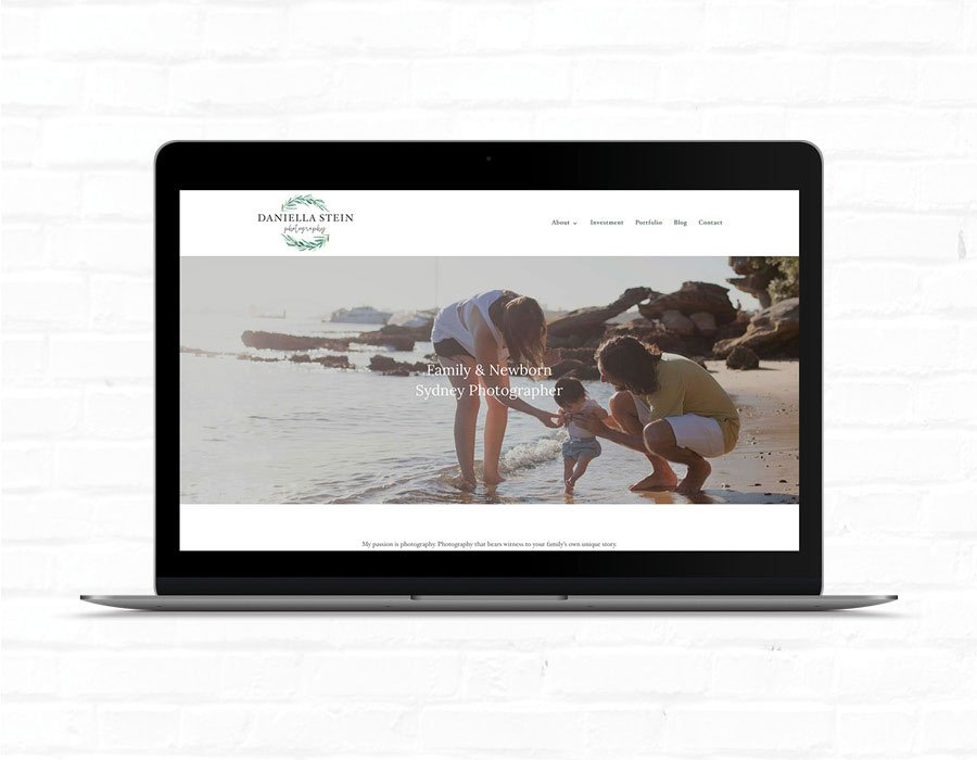 Daniella Stein Photography Website Design | What Makes A Good Website | Web Design Eastern Suburbs, Hornsby, Sydney | SEO