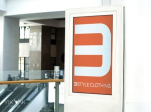 3 Style Clothing | Fashion | Shop Graphic Design Signage Poster | Fitout