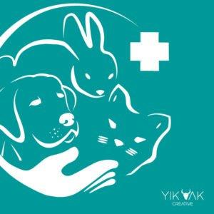 Yik Yak Creative   Vet Logo Design   Riverstone   Western Sydney Graphic Designer   Blacktown