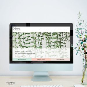 Naturopath Web Design   Rouse Hill Naturopathy   Norwest Natural Therapist   Website   SEO   Copywriter   Health Logo   Leaf Brand Design   Postnatal Graphic Design   Logo Designer