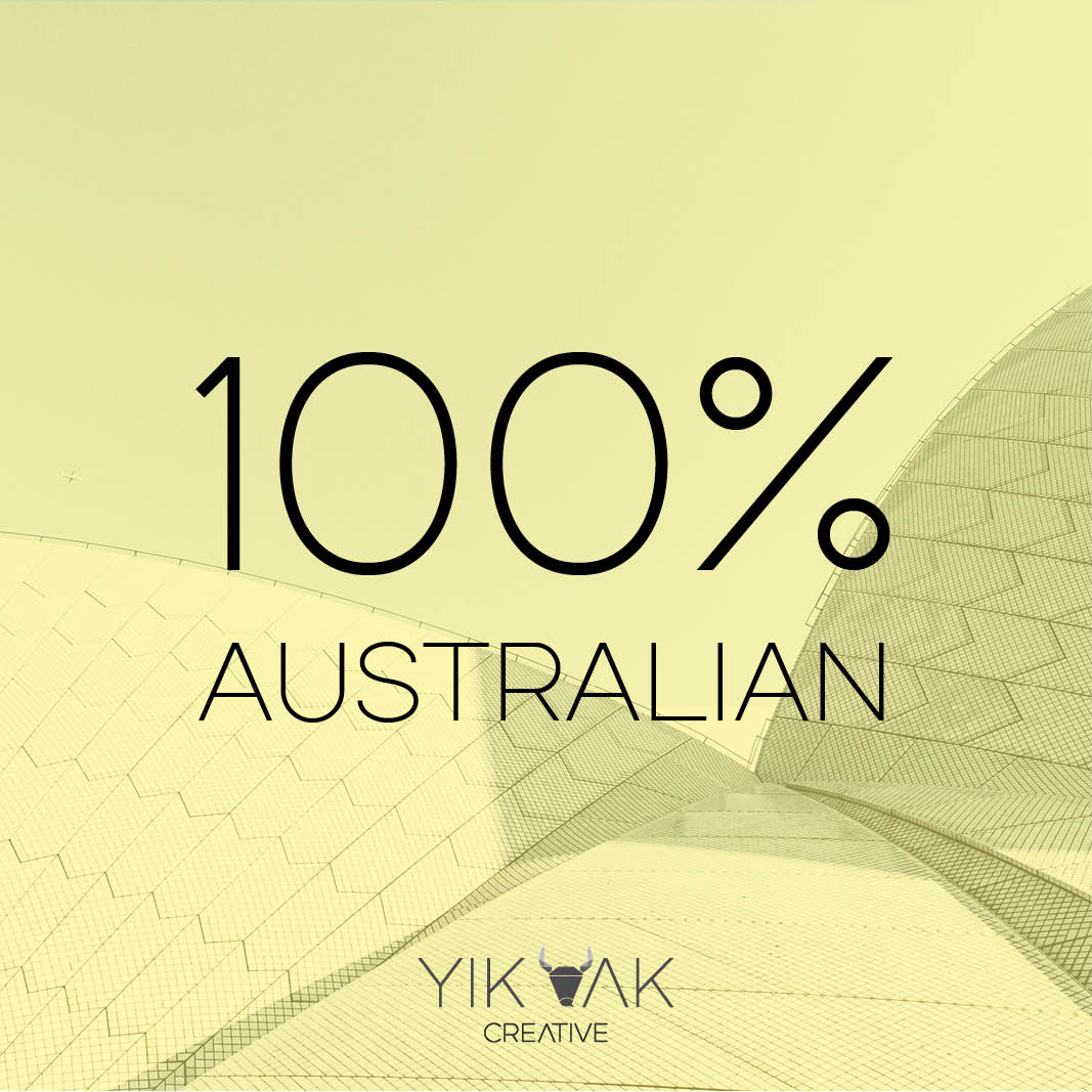 Yik Yak Creative | Australia Day 2019 | Local Business Web Design | Australian | Outsource | Designer Near Me