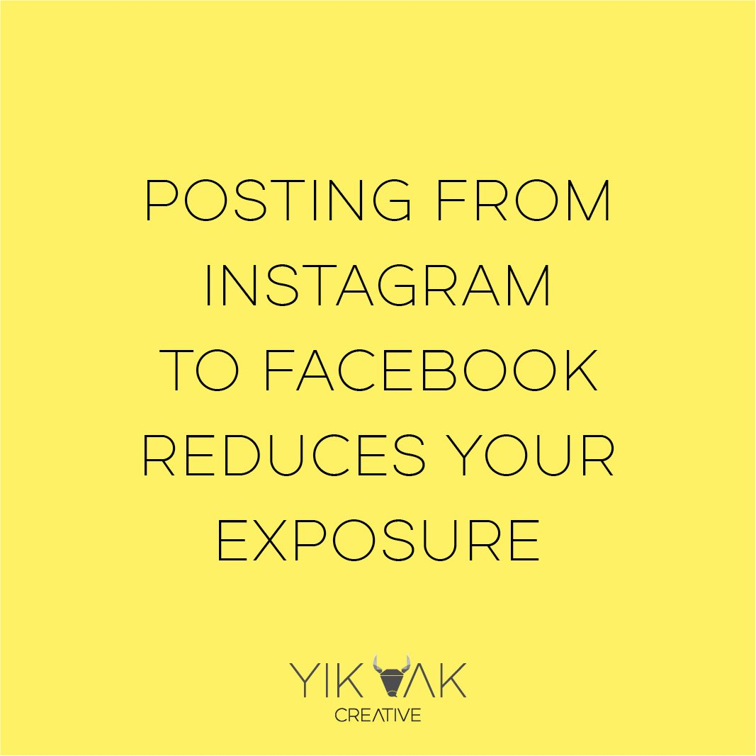 Yik Yak Creative | Facebook | Instagram | Posting Tips | Social Media Tips | Social Media Marketing