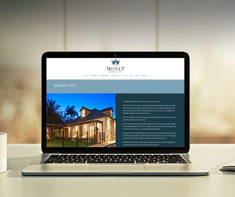 Yik Yak Creative   Blue Zinc Constructions   Construction Company Logo Design   Sydney Web Designer   North Shore Graphic Designer   Hornsby   Building Logo   SEO Website