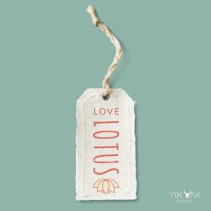Yik Yak Creative | Love Lotus | Fashion | Beach Bag Label Designer | Tag | Hills District | Northern Beaches | North Shore | Bali | Mosman | Sydney