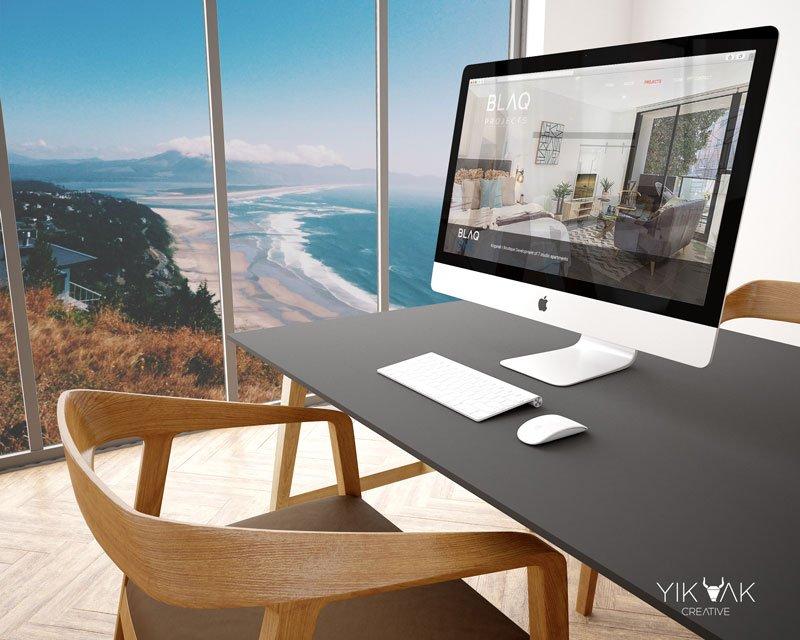Yik Yak Creative | Porfolio | BLAQ | Construction | Sydney | Logo Designer | Branding | Property Developer | Design | Boutique | WordPress website | WordPress web design | Good wordpress website example