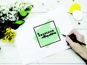 Brand Designer Sydney | Keystone Writing | Copywriter Logo | Draw logo | Watercolour Logo | Botanic Logo | key logo