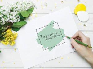 brand designer sydney | keystone | copywriter hills district | botanic logo design | natural logo | key logo | copywriting designer | web designer | branding agency