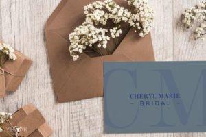 Cheryl Marie Bridal Monogram Symbol Logo Design   Sydney   Hills District   Fashion Designer   Stamp   Initial   Letters   Brand   Cherrybrook   Gosford   Mudgee
