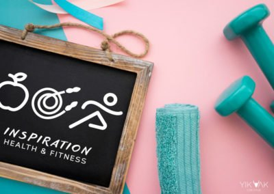 Inspiration Health and Fitness Logo Design