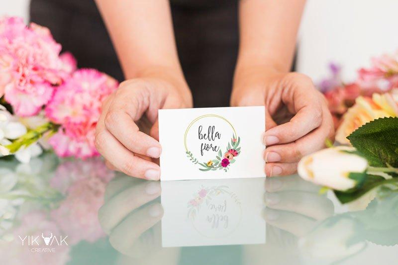 Yik Yak Creative   Bella Fiore   Florist   Logo Design   Web   Design   Kellyville   Award Winning   Hills District Sydney