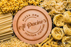Yik Yak | Creative | Italian | Pizza | Pasta | Food | Restaurant Cafe Bar Logo Designer | Sydney | Parramatta | Inner West