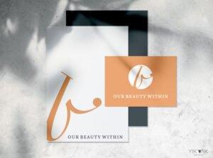 Beautician Logo Design Idea | Branding Inspiration | Salon | Luxury | Therapist | Beauty | Massage | Spa | Sydney | Monogram | Symbol | Lettering