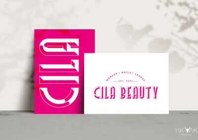 Cila Beautician Logo Design