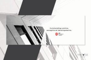 Real Estate | Property Developer Loo Design Sydney | Branding | Social Media | Graphic Designer | Agent | Minimalist | Upmarket | Sleek | Geometric | Commercial | Brisbane