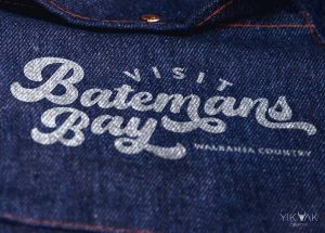 Visit Batemans Bay | Tourism Australia | Sun | Vintage | 80s | Retro Beach Logo Design | South Coast NSW | Sydney | Denim | Council Chamber | Travel Guide
